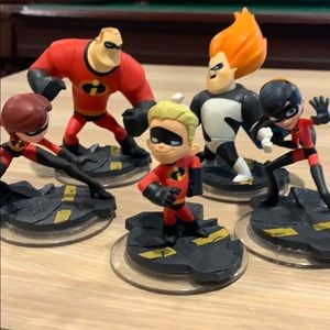 Disney Infinity Game Figure- Incredibles Set